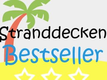 Bestseller Stranddecke & Picknickdecke