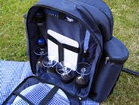 Rucksack für 4 Personen Picknick