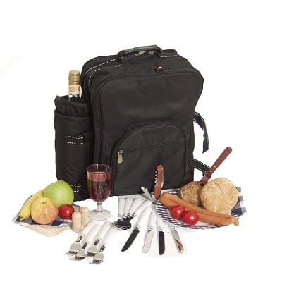 Picknick Rucksack mehrere PErsonen und Kühlbox