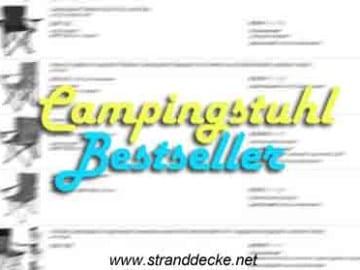 Camingstuhl Lieblinge Bestseller