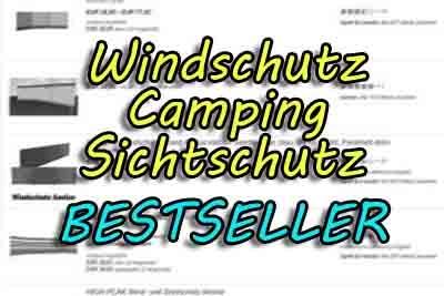 Angebote Windschutz Sichtschutz Garten Camping kaufen
