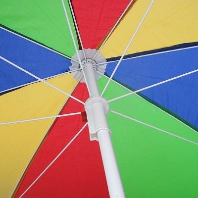 Strandschirm Sonnenschirm mit Külse