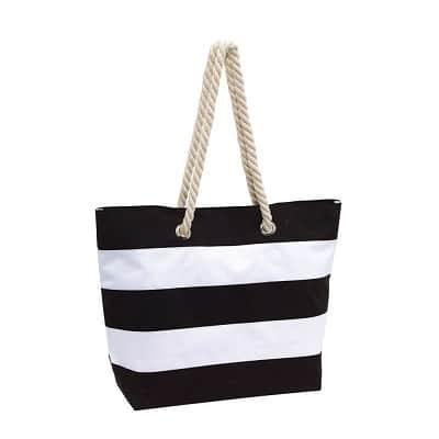 waschbare Strandtasche Handtasche aus Baumwolle